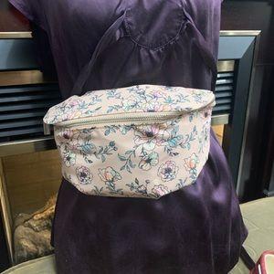 Fanny Pack - Pink Flowers (Adjustable)